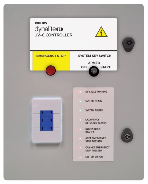 Philips Dynalite UV-C control system for surface disinfection